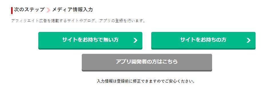 a8ネットはサイトがなくても登録できる